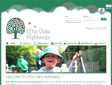 Tablet Preview of littleoaksnursery.je
